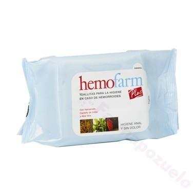 HEMOFARM PLUS 40 TOALLITAS