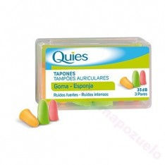 TAPON ESPUMA QUIES 6 UN