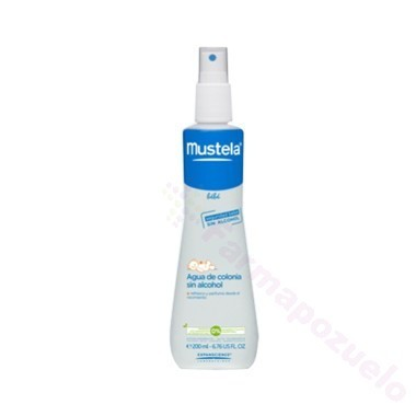 MUSTELA BEBE AGUA DE COLONIA SIN ALCOHOL 200 ML