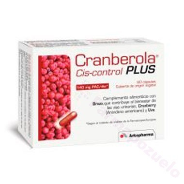 CRANBEROLA CISCONTROL PLUS CON BREZO 60 CAPS