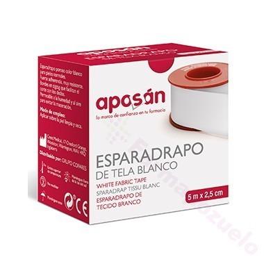ESPARADRAPO APOSAN BLANCO 5 X 2. 5 CM
