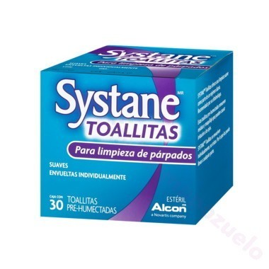 SYSTANE TOALLITAS 30 UD