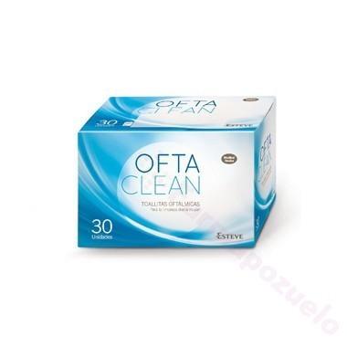 OFTACLEAN TOALLITAS DE UN SOLO USO 30 TOALLITAS