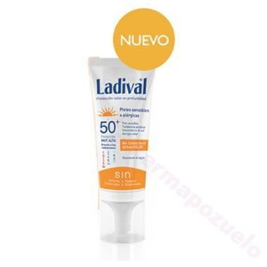 LADIVAL FACIAL FPS 50+GEL CREMA CON COLOR