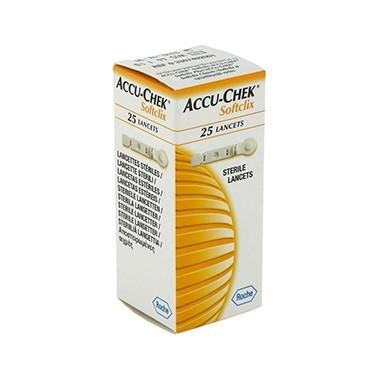 ACCU-CHEK SOFTCLIX II 25 LANC