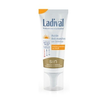 LADIVAL ACCION ANTIMANCHAS FPS 50+ EMULSION COLOR 50 ML