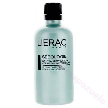 LIERAC SEBOLOGIE SOLUCION KERATOLITICA 100 ML.