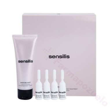 SENSILIS SKIN DELIGHT TRATAMIENTO INTENSIVO ACTIVADOR LUMINOSIDAD Y ENERGIA 75 ML + 4 AMPOLLAS 2 ML