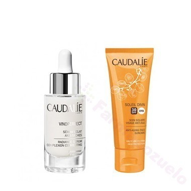 PACK CAUDALIE VINOPERFECT SERUM+SOLAR