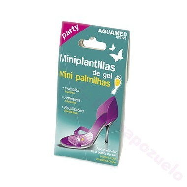 AQUAMED MINIPLANTILLAS GEL 2U