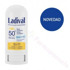 LADIVAL STICK PROTECTOR ZONAS SENSIBLES FPS 50+ 8 G