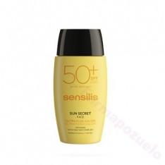 SENSILIS SUN SECRET ULTRA SPF 50+ FLUIDO FACIAL CON COLOR 40 ML