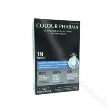 COLOUR PHARMA COLORACION ANTIEDAD SIN AMONIACO 1.0- NEGRO