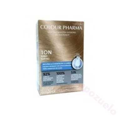 COLOUR PHARMA COLORACION ANTIEDAD SIN AMONIACO 10-N RUBIO PLATINO