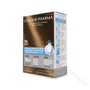 COLOUR PHARMA COLORACION ANTIEDAD SIN AMONIACO 7-N RUBIO