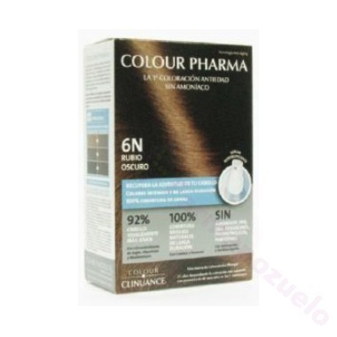 COLOUR PHARMA COLORACION ANTIEDAD SIN AMONIACO 6-N RUBIO OSCURO