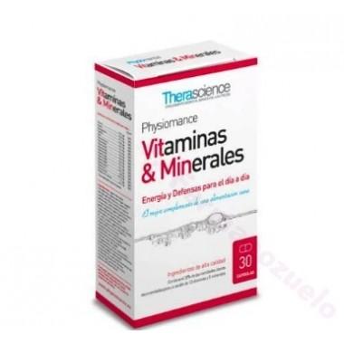 TEOLIANCE VITAMINAS & MINERALES 30 CAPS