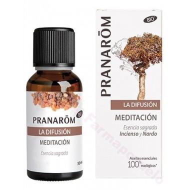 PRANAROM MEZCLA DIFUSOR MEDITACION Y OLORES SAGRADOS