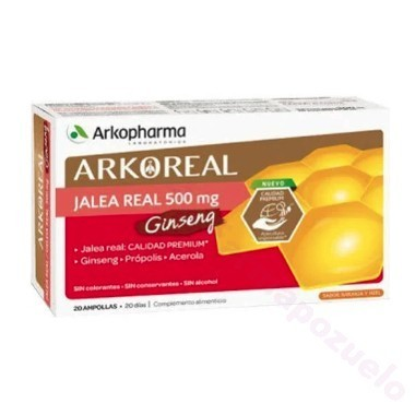ARKOPHARMA JALEA-GINS 20 AMP