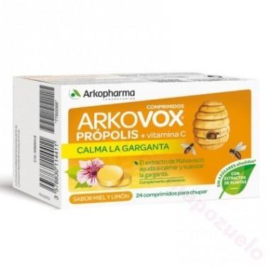 ARKOPHARMA ARKOVOX PROPOLIS-VIT C 20 COMP