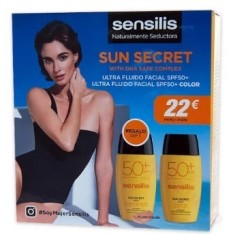 PACK SENSILIS SECRET FLUIDO+COLOR SPF 50