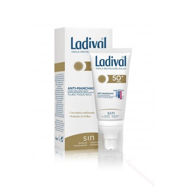 LADIVAL ANTIMA SECO FPS50+50ML