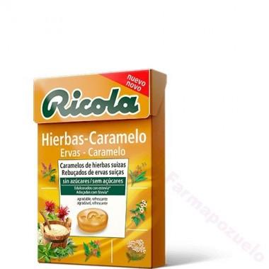RICOLA HIERBAS-CARAMELO CAJA