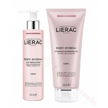 PACK LIERAC BODY-HYDRA 200ML + MICROPEELING 200ML