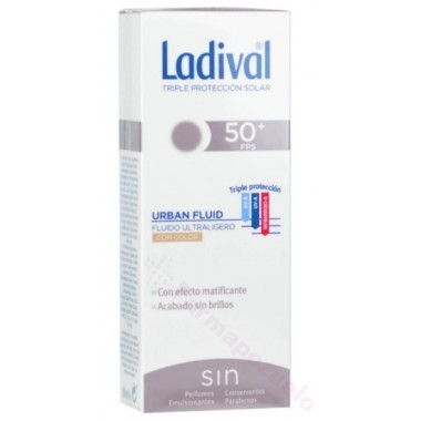 LADIVAL URBAN FLUIDO COLOR FPS50+ 50ML