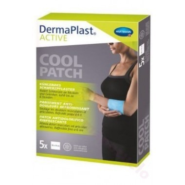 DERMAPLAST ACTIVE COOL PATCH 10 X 14 CM 5 U