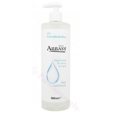 ARBASY GEL HIDROALCOHOLICO 500 ML