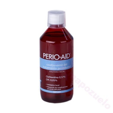 PERIO AID COLUT SIN ALCOH500ML