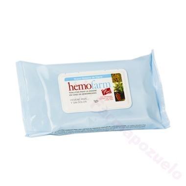 HEMOFARM PLUS TOALLITAS HIGIENE ANAL SOBRE 20 TOALLITAS