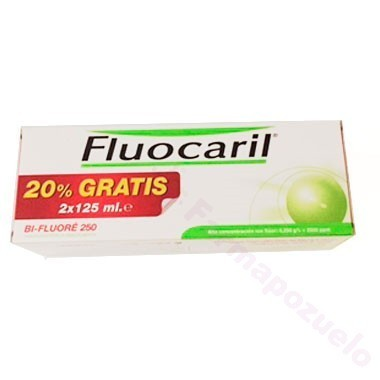 DUPLO FLUOCARIL GRANDE 2x125 ml