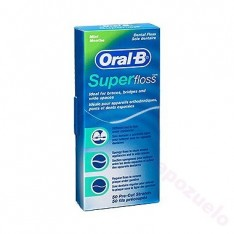 ORAL-B HILO DENTAL SUPERFLOSS 50U