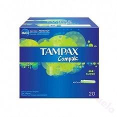 TAMPON TAMPAX COMPAK SUPER 20