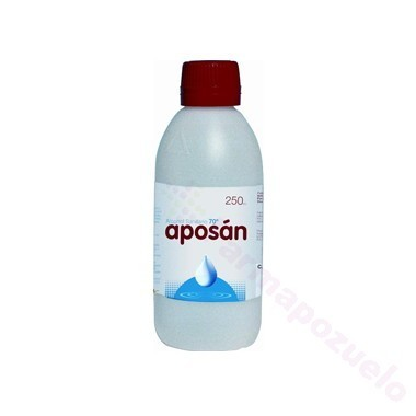 ALCOHOL 70 APOSAN 250 ML