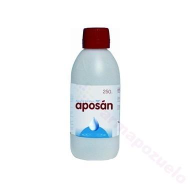 ALCOHOL 70 APOSAN 250 ML